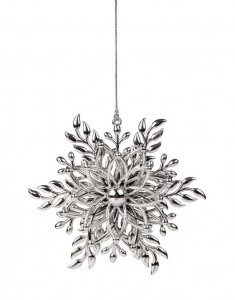 23669974 - christmas snowflake ornament on a white background