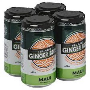 Maui Brewing Company 4-pack of Ginger Beer